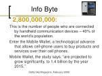 info byte