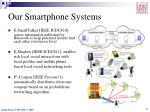 our smartphone systems
