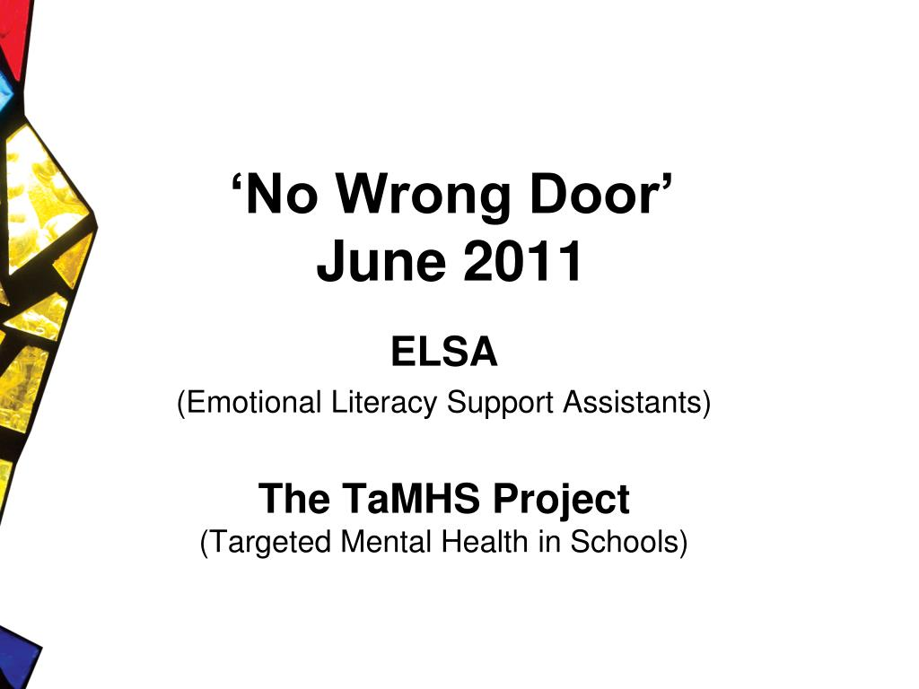 no wrong door june 2011 l.