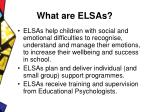 what are elsas