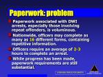 paperwork problem
