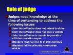 role of judge60