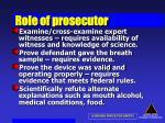 role of prosecutor58