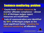sentence monitoring problem22