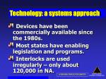 technology a systems approach51