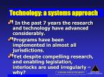 technology a systems approach52