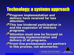 technology a systems approach53