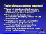technology a systems approach54