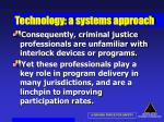 technology a systems approach55