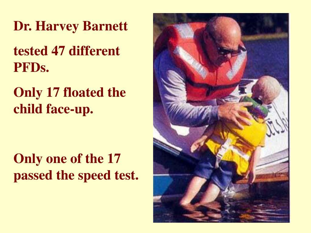 Dr. Harvey Barnett