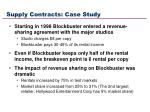 supply contracts case study14