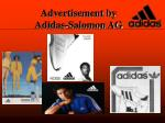 advertisement by adidas salomon ag