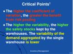 critical points 1