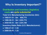 why is inventory important 1