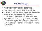 pcmh strategy