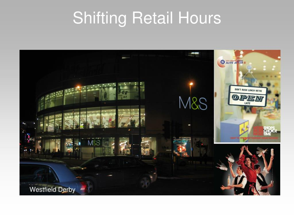 Shifting Retail Hours