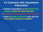 4 4 contracts with asymmetric information