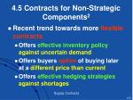 4 5 contracts for non strategic components 2