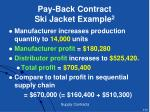 pay back contract ski jacket example 2