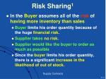 risk sharing 1