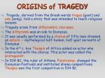 origins of tragedy