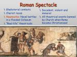 roman spectacle