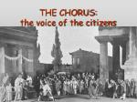 the chorus the voice of the citizens