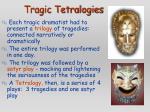 tragic tetralogies