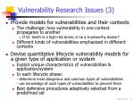 vulnerability research issues 3