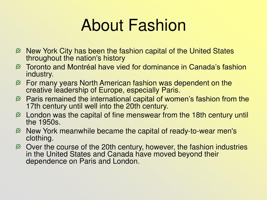 about fashion l.
