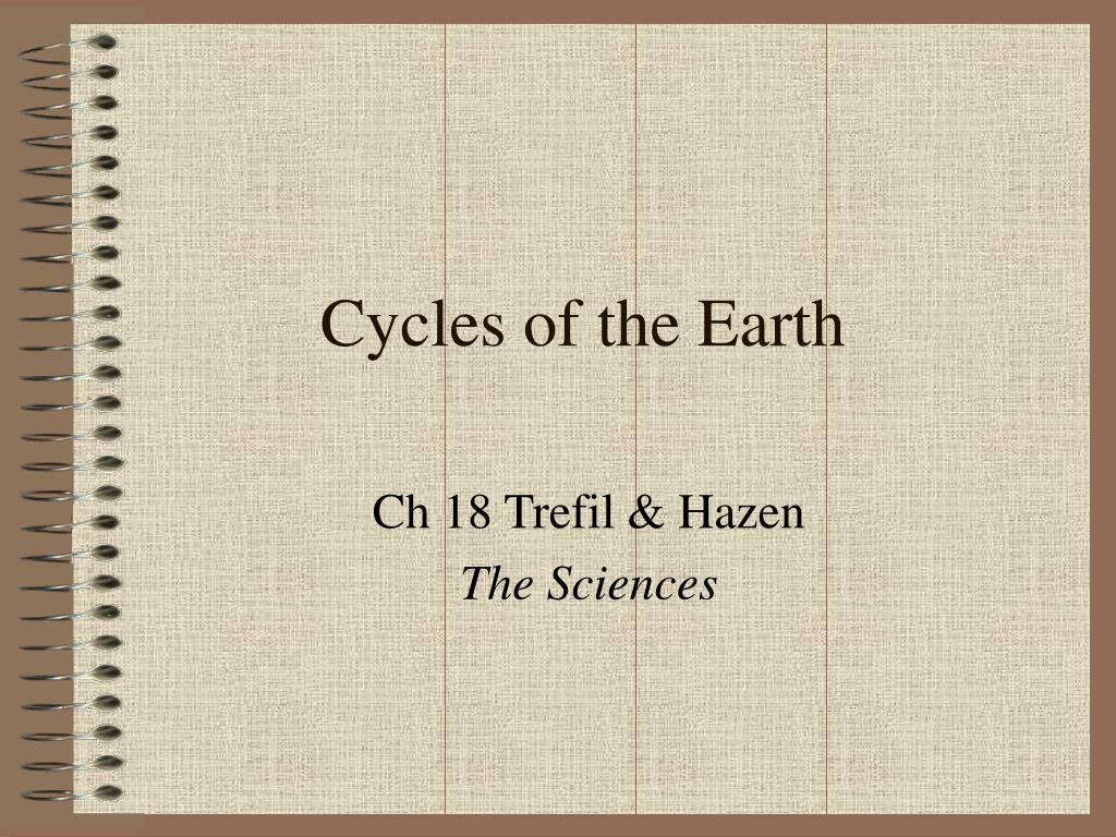 cycles of the earth l.