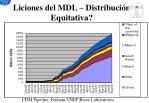 liciones del mdl distribuci n equitativa