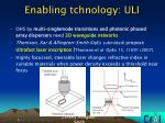 enabling tchnology uli