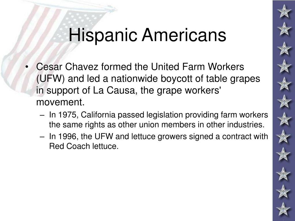 Hispanic Americans