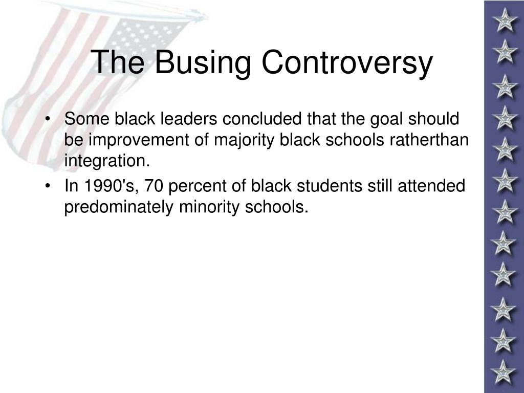 The Busing Controversy