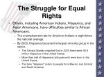 the struggle for equal rights7
