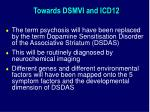 towards dsmvi and icd12