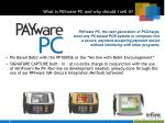 what is payware pc and why should i sell it33