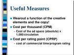 useful measures39