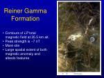 reiner gamma formation