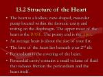 13 2 structure of the heart