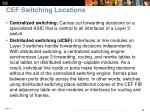 cef switching locations