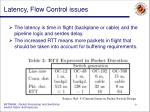 latency flow control issues9