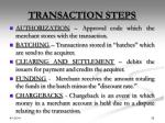 transaction steps