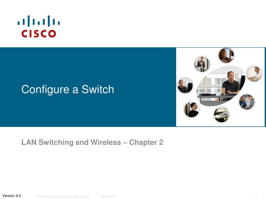 configure a switch l.