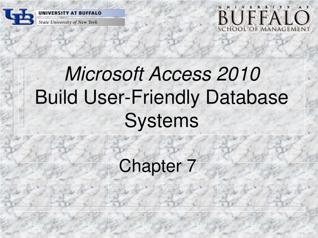 microsoft access 2010 build user friendly database systems l.