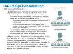 lan design consideration20