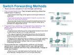 switch forwarding methods23