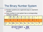 the binary number system1