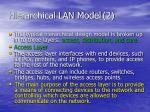 hierarchical lan model 2